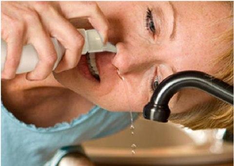 Tìm hiểu về súc rửa mũi
