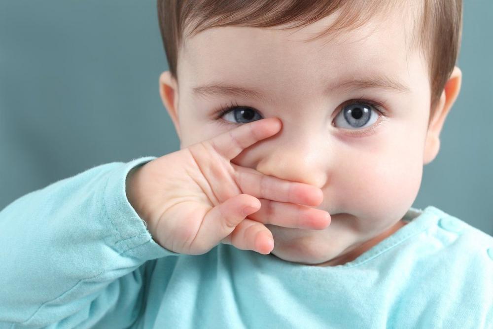 Nguyên nhân khiến trẻ sơ sinh bị nghẹt mũi